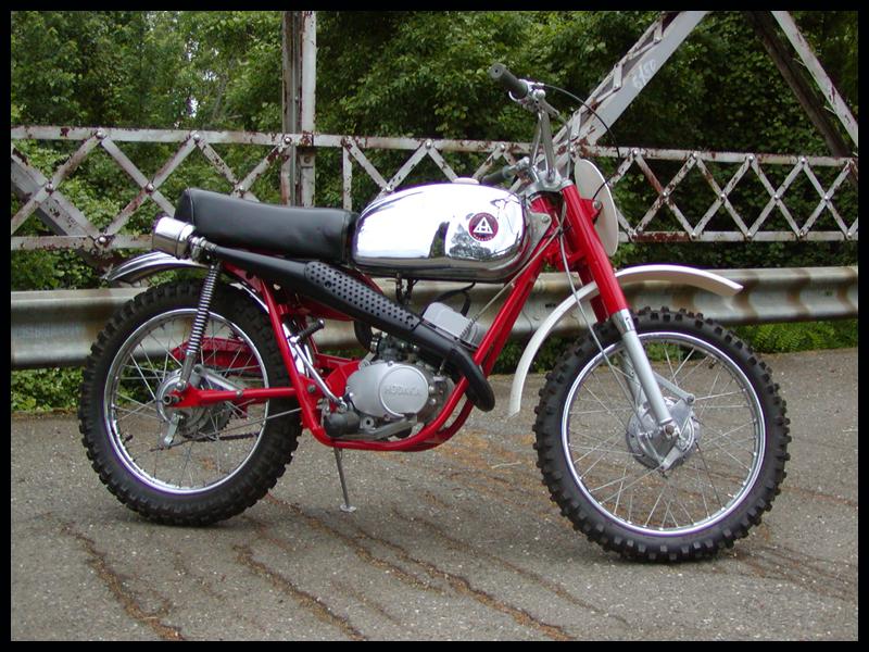 1964 Hodaka ACE 90