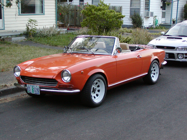 1968 Fiat 124 Spider - SCCAForums.com - SCCA Racing Discussions -